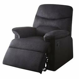ACME Furniture Acme 00701 Arcadia Recliner, black woven Fabr