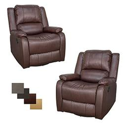 "RecPro Set of 2 Charles Collection | 30"" Swivel Glider RV Re"