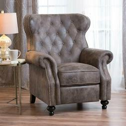 Christopher Knight Home 300661 Waldo Tufted Wingback Recline