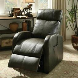 ACME Furniture 59405 Ricardo Recliner with Power Lift, Dark