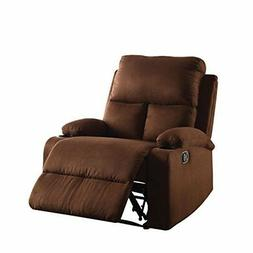 ACME Furniture 59553 Rosia Recliner, One Size, Chocolate