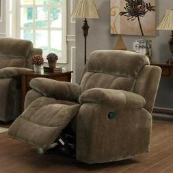 Coaster Home Furnishings Myleene Upholstered Glider Recliner