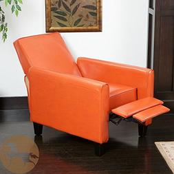 Christopher Knight Home Darvis  Leather Recliner Club Chair