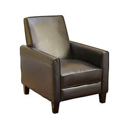 Lucas Space-Saving Leather Recliner | Perfect for Home or Of