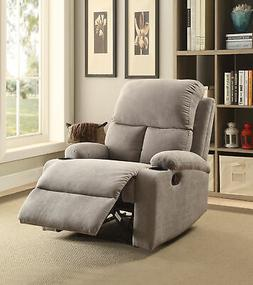 ACME Rosia Recliner in Gray