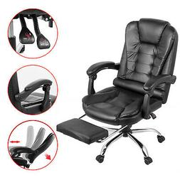 Executive Reclining Office Chair High Back Recliner Swivel F