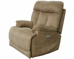 Catnapper Amos Power Lay Flat Recliner w/Extended Ottoman in