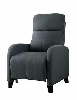 Homelegance Antrim Modern Profile Fabric Push Back Reclining
