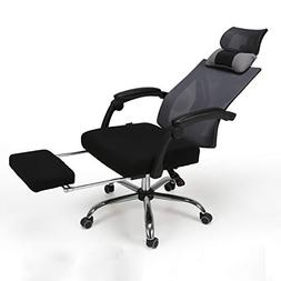 Hbada High Back Ergonomic Recliner Mesh Office Chair with Ad