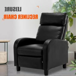 Chic Leisure Recliner Sofa Chair Manual Lounge Accent Couch