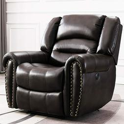 Power Recliner Chair Breathable Bonded Leather W/USB Port Ho