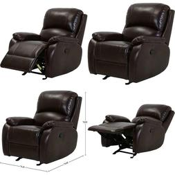 Brand – Ravenna Home Oakesdale Contemporary Recliner, 35.4