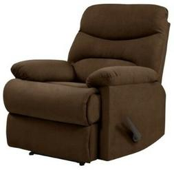 Brown Wall Hugger Arm Chair Recliner Recliners Lazy Armchair