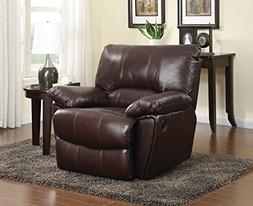 Coaster Home Furnishings Clifford Upholstered Recliner Choco