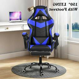 Computer Gaming Chair Ergonomic Office Chair Recliner PU Lea