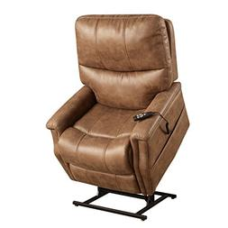 Pulaski DS-A283-016-042 Faux Leather Dual Motor Lift Chair i