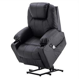 Electric Power Lift Chair Massage Sofa Recliner Heated Chair