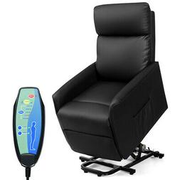 Electric Power Lift Massage Sofa Recliner Vibrating Chair w/