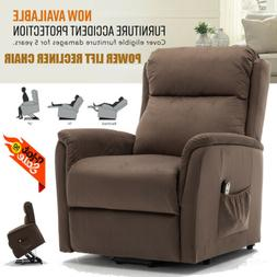 Electric Power Lift Recliner Chair Elderly Armchair w/Massag