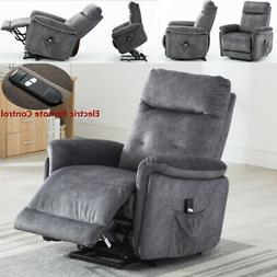 Electric Power Lift Recliner Chair For Elderly Padded Arm Se