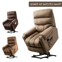 """Power Lift Recliner Chair 20""""W Padded Seat Reclining Couch S"""