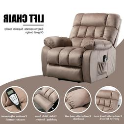 Modern Recliner Chair Accent Push Back Single Sofa Padded Se