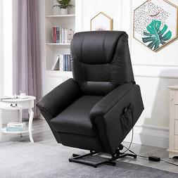 Electric Power Lift Recliner Chair Stand Assist w/Remote Con