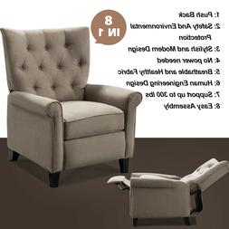 Elizabeth Accent Recliner Chair Push Mechanism Single Elegan
