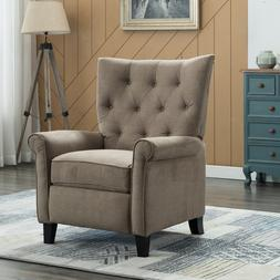Elizabeth Accent Recliner Chair Push Back Padded Seat Roll A