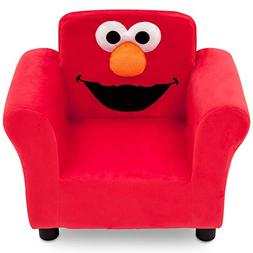 Sesame Street Elmo Upholstered Chair - Red