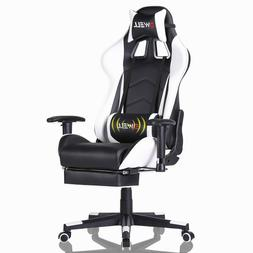 Ergonomic Office Chair Computer Gaming Chair Recliner Racing