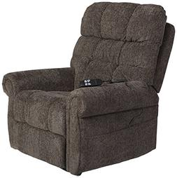 Ernestine 9760112 Power Lift Recliner with Rolled Arms  Dual