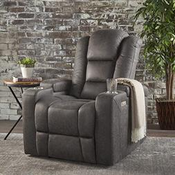 Everette Power Motion Recliner with USB Charging Port & Hidd
