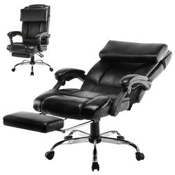 Executive Reclining Office Chair Ergonomic High Back Footres
