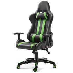 Giantex Gaming Chair Ergonomic Racing Style Chair High Back