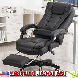 Gaming Chair Massage Seat 135° Office Executive Computer De