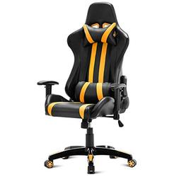 Giantex Gaming Chair Racing Style High Back PU Leather Execu