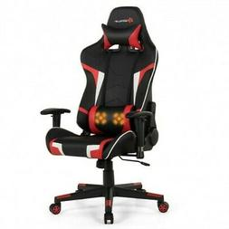 Gaming Chair With Reclining-Red