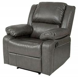 Flash Furniture Harmony Series Gray Leather Recliner - BT-70