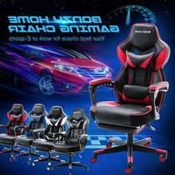 High Back Racing Gaming Chair Computer Office Chair Swivel R