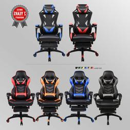 Racing Gaming Chair Ergonomic Massage High Back Office Recli