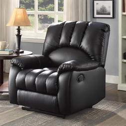 Home Furnishing Recliner Extra Large Leather Wide Big and Ta