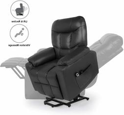 Home Power Lift Recliner Chair for Elderly with Massage, Hom