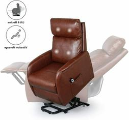 Home Power Modern Electric Lift Chair for Elderly, Faux Leat