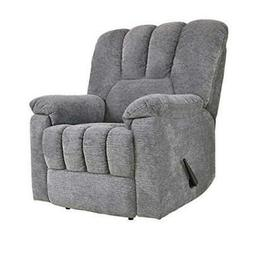 Homelegance Manual Reclining Chair, Gray