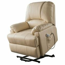 Acme Ixora Faux Leather Power Lift and Massage Recliner in B