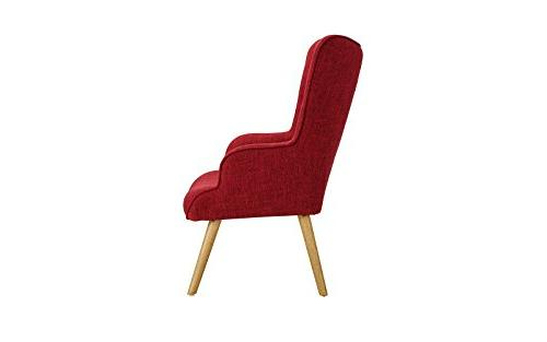 Accent for Room, Arm Chairs Tufted Detailing Legs