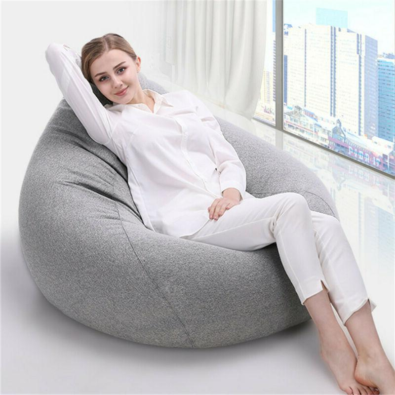 Adults Kids Bean Bag Indoor Lazy Home Decor NEW