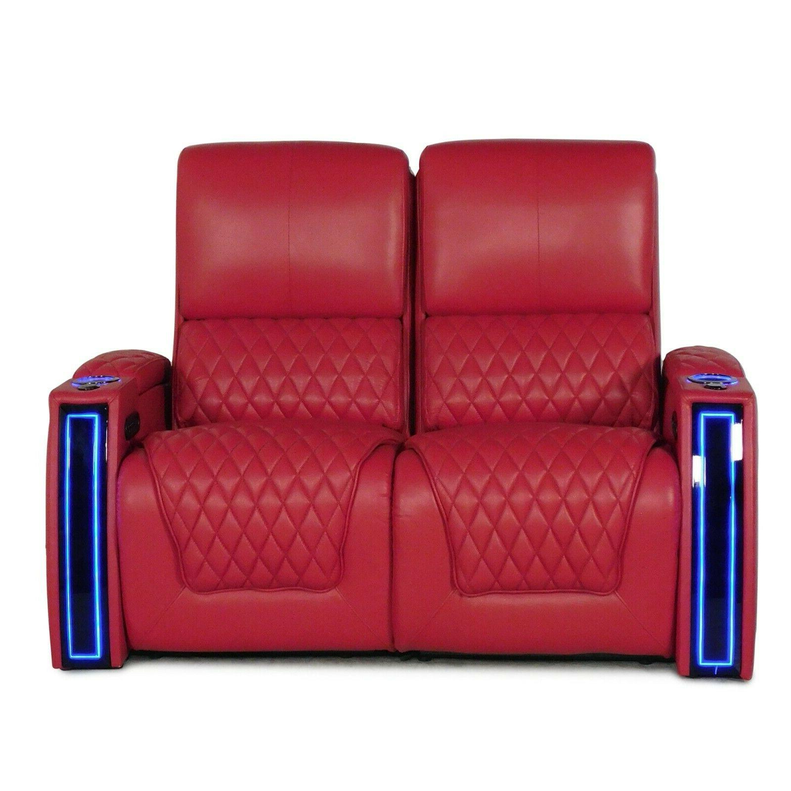 apex red leather home theater seating chairs