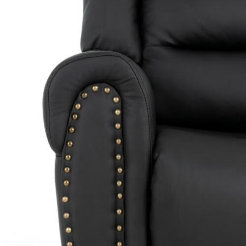 Massage Reclining Lift Chair Leather Sofa